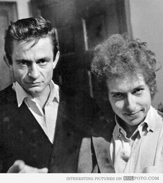 Johnny Cash and Bob Dylan.  Historical Pics (@VeryOldPics) | Twitter