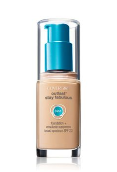 Covergirl Outlast Stay Fabulous 3 in – Warm Beige - Beauty Tips and Tricks Makeup Forever Hd Foundation, Best Drugstore Foundation, Makeup Foundation, Natural Foundation, Liquid Foundation, Natural Skin, Lightweight Foundation, Natural Makeup, Beauty Products