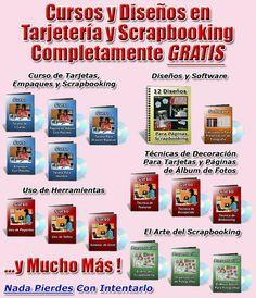 GRATIS 14 Videos con mas de 3 horas en técnicas para hacer scrapbook y tarjetas. El grupo de Scrapbooking más grande de habla hispana >> Scrapbooking, Scrapbooking en Español, Ideas Scrapbooking, Scrapbooking Gratis --> www.mycroppingclub.com