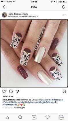 Cute Acrylic Nail Designs, Cute Acrylic Nails, Gel Nails, Love Nails, How To Do Nails, Leopard Nails, Party Nails, Autumn Nails, Garra
