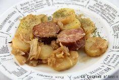 Recette Saucisse de morteau aux pommes de terre - La cuisine familiale : Un plat, Une recette