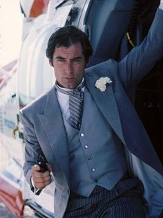 Timothy Dalton:Licence to Kill (1989)  Dalton returned for a follow-up with the intent of continuing to portray the character in a more realistic way than previous interpretations. Borrowing elements from two Ian Fleming short stories, the film has a markedly different feel than other Bond films, but Dalton's performance is still terrific, as the character deals with an attack on longtime friend Felix Leiter (David Hedison) that leaves Leiter's new wife dead.