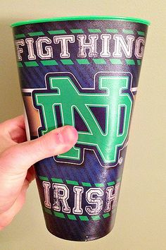 You Had One Job.         FigThing irish cups, distributed at Temple game, Aug. 30, 2013.