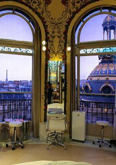Le Coiffeur, Printemps department store, Paris
