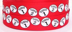 Thing 1 Thing 2, Grosgrain Ribbon, Ribbons, Hair Bows, Craft Projects, Scrapbook, Awesome, Crafts, Etsy