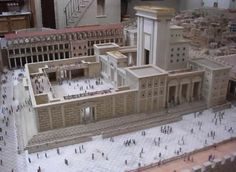 These photos were taken at the Holyland Experience in Orlando, Florida. The model of the city of Jerusalem as it appeared in A.D. 66 is the work of Zion's Hope Ministries. The model is open for public viewing.