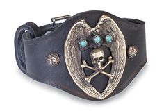 Day of the Dead Bracelet... or... Biker Pirate time via crowsnest.com