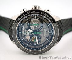 Graham Silverstone RS Skeleton Green Limited Edition 2STAC2.B01A.K90F #Graham #LuxuryDressStyles