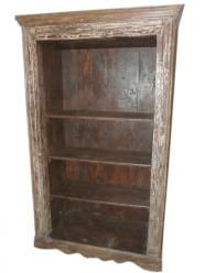 Rustic Patina Bookcase Hand crafted India Furniture  $1,248.00