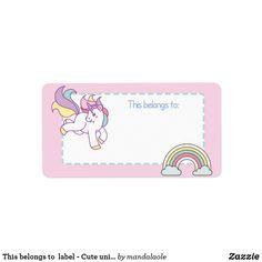 Esto pertenece a la etiqueta - unicornio lindo 2