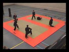 Tai-jitsu Demonstration - Martial Arts Day - De Budoka Enschede - for KiKA