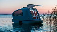 Check out the tiny camper that turns into a boat