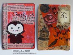 Betwixt this and that : The Art of Self Expression: Week 6 - Altered Playing Card Challenge