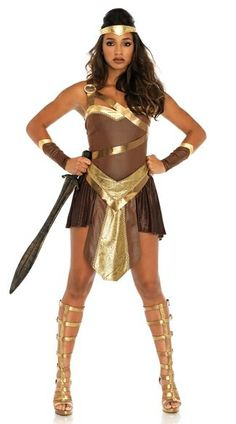 ... Best Female Halloween Costumes by Heather Wight. See more. Golden Gladiator  sc 1 st  Pinterest & 390 best Best Female Halloween Costumes images on Pinterest | Female ...