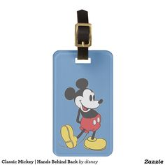 Classic Mickey | Hands Behind Back Bag Tag