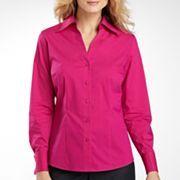 Worthington® Long-Sleeve Button-Down Shirt