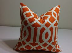 Euro pillow shams - ONE    DECORATIVE THROW pillow cover     Accent  cushion covers on Etsy, $16.00