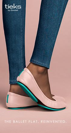 Connect with your inner ballerina in Ballerina Pink Tieks! | Tieks Ballet Flats