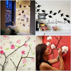 Diy , super cute for the room
