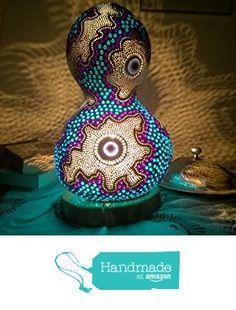 2017 'The Weirdo' Handmade Gourd Lamp from Rising Star Handmade https://www.amazon.com/dp/B06X3ZKZ1K/ref=hnd_sw_r_pi_dp_DbOUybF7WZEMG #handmadeatamazon