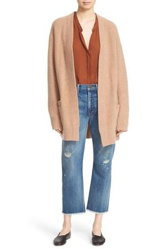 Vince Vince Open Front Cashmere Cardigan available at #Nordstrom