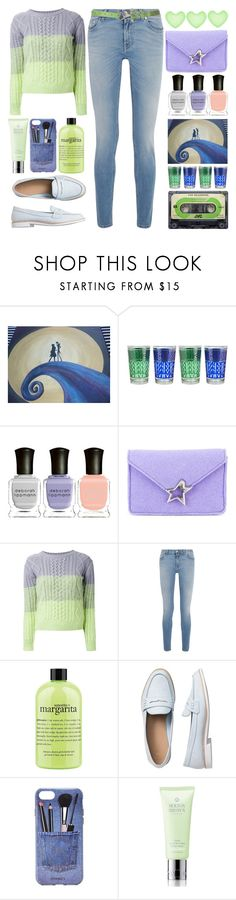 """""""Loafers"""" by grozdana-v ❤ liked on Polyvore featuring Deborah Lippmann, Corto Moltedo, Guild Prime, Givenchy, philosophy, Gap, Iphoria and Molton Brown"""