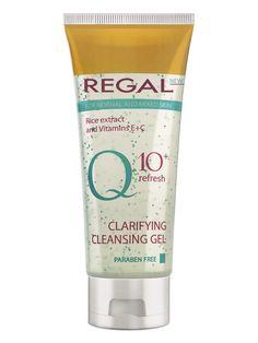 Gel de curatare cu vitamine E+C ten normal Q10 - 100 ml. Q10 - secretul unui ten frumos, indiferent de varsta! Q10 ajuta la atenuarea ridurilor fiind un puternic anti-oxidant natural. Aminoacizii din extractul de orez hidrateaza si revitalizeaza pielea. Cleansing Gel, Ten, Personal Care, Lady, Blog, Vitamin E, Self Care, Personal Hygiene, Blogging