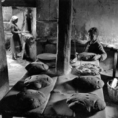 'Bakery in Cuenca, Spain' by Francesc Català-Roca, 1955