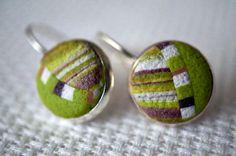 earrings from polymer by NattyMaty