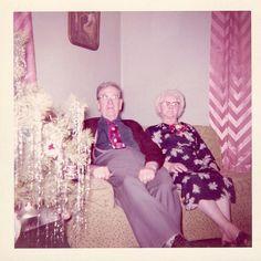 Christmas- vintage color snapshot via dancingfish