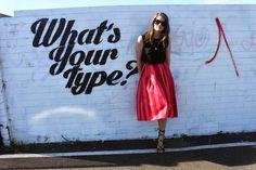 Full Skirt and Gillie Heels aka Channeling Blair Eadie