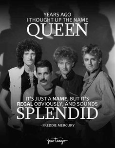 40 best freddie mercury quotes & queen song lyrics of all time yourtang Rock Music Quotes, Band Quotes, Song Lyric Quotes, Life Quotes Love, New Quotes, Song Lyrics, Funny Quotes, Famous Quotes, Rock Quotes