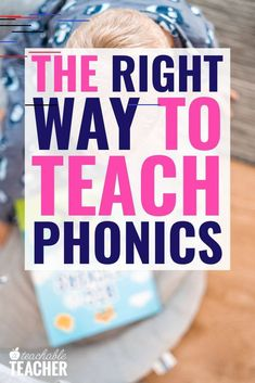 Teaching Phonics the Right Way A Teachable Teacher : Are you looking for the most effective way to teach children to read? This analogy will change the way you think about teaching phonics for good! Every kindergarten, first grade, and second grade pho Phonics For Kids, Teaching Phonics, Phonics Activities, Teaching Strategies, Teaching Kids, How To Teach Phonics, Preschool Readiness, Preschool Lessons, Reading Activities