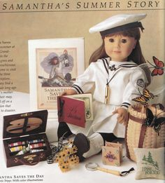 Retired American Girl Samantha - no longer available for purchase Summer