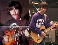 Dhani kept George's sweater