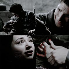 """""""I can't take your pain."""" """"It's because it doesn't hurt."""" :'{"""