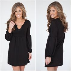 ⭐️1S & 1L Left⭐️NWT Black Belle Sleeve Tunic Dress NWT Black Belle Sleeve Dress/Tunic. Knit material, wear as a dress or with leggings for an adorable look. Fabric is Rayon/Spandex blend. Available in Small (0-4) or Large (10-12)No Trades and No Paypal⭐️PLEASE DO NOT PURCHASE THIS LISTING, COMMENT WITH SIZE AND I WILL MAKE A NEW LISTING⭐️ Sold out of mediums Dresses