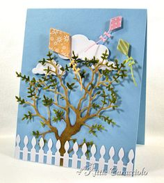 Summer Kites by kittie747 - Cards and Paper Crafts at Splitcoaststampers
