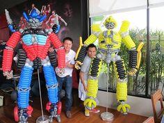 """Как сделать робота? - Фигуры, мультперсонажи - Клуб """"Воздушные шары"""""""