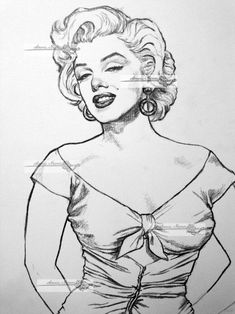 Line art for my marilyn monroe collections will add colors later and background rose of niagara Marilyn Monroe Drawing, Marilyn Monroe And Audrey Hepburn, Marilyn Monroe Artwork, Marilyn Monroe Tattoo, Celebrity Drawings, Celebrity Caricatures, Pencil Art Drawings, Drawing Sketches, Arte Alien