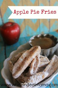 Apple Pie Fries, Perfect Fall treat!    #apple #ApplePie