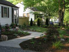 ordentliche gemüse beete vorgartengestaltung mit kies kleines, Gartenarbeit ideen
