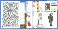 Remembrance Day Activities, Key Stage 1, Primary Resources, Anzac Day, Interactive Activities, Eyfs, Design Your Own, Lesson Plans, Poppies