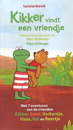 Kikker vindt een vriendje - Max Velthuis. Download de gratis Luisterbieb app en laat de kinderen genieten achter in de auto van het verhaal.