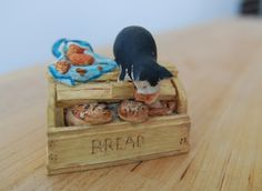 Items similar to Take The Biscuit Cat Ornament - Peter Fagan Cat Collection, Colour Box on Etsy Color Box, Colour, Dollhouse Furniture, Tea Set, Toy Chest, Cute Cats, Biscuit, Scotland, Miniatures