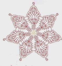 Lindissima flor em crochê! O formato dela já dá ideia para usarmos vários tons de cores...