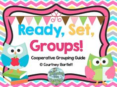 Swimming Into Second: Ready, Set, Groups: Cooperative Grouping Guide
