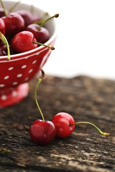 In honour of the 23 pounds of cherries I'm going to eat all by myself in the Okanagan this summer.