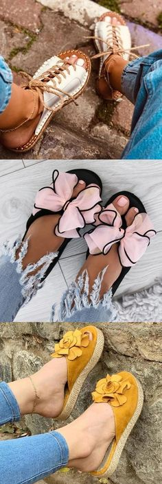 New Boho Sandals Pretty Shoes, Cute Shoes, Me Too Shoes, Slipper Sandals, Unique Shoes, Cute Sandals, Womens Slippers, Summer Shoes, Fashion Shoes
