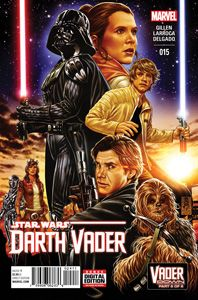 Marvel's Darth Vader #15 - Exclusive Cover Reveal